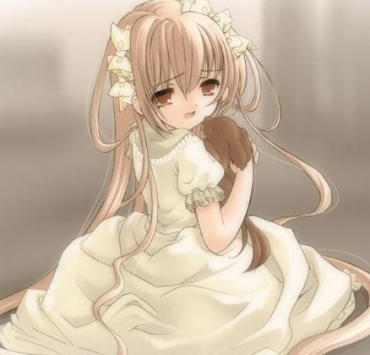 Sad little anime girl pictures 2