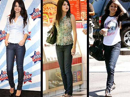 Selena Gomez Jeans on Selena Gomez In Jeans Pictures 1