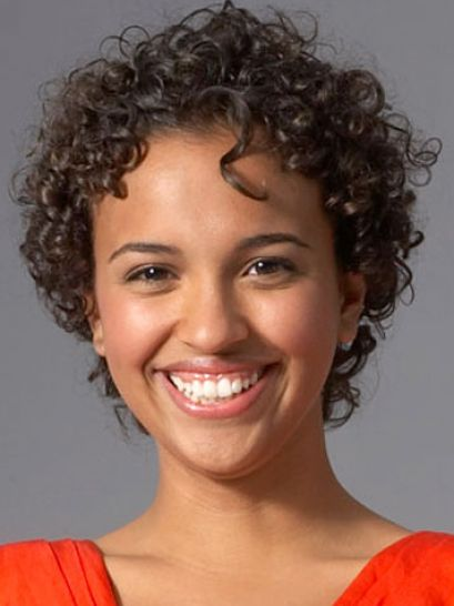 Short african american curly hair pictures 1