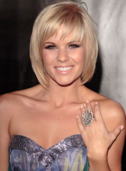 Short blonde bob hairstyles 2011 pictures 4