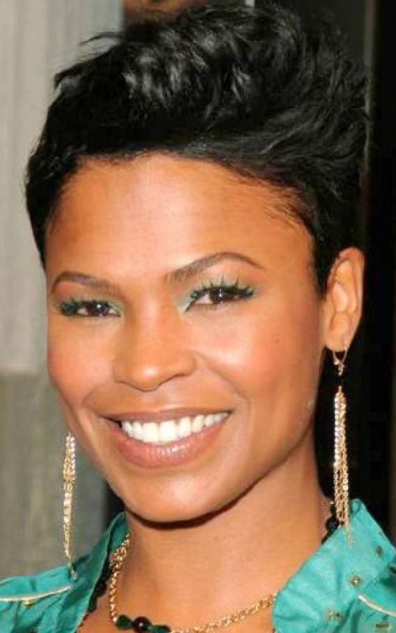 Short hairstyles for black women with thin hair pictures 1