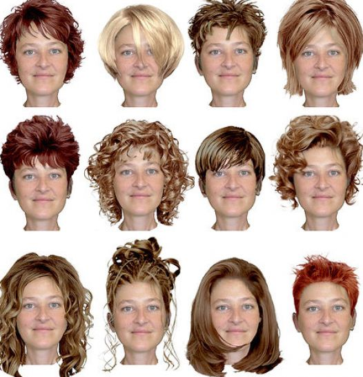 Short Hairstyles for Overweight Women with Thin Hair