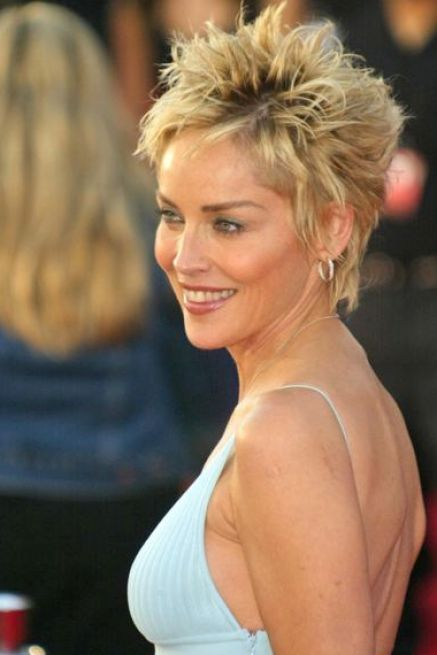 Short hairstyles for fine hair round face pictures 1