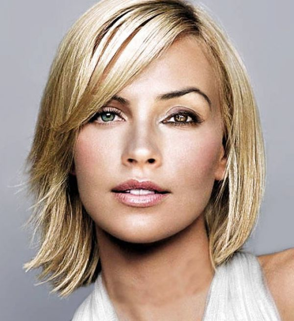 Short hairstyles for oval face shapes pictures 2