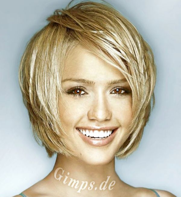 Short Hairstyles For Thick Wavy Hair And Oval Face : Short hairstyles for oval faces and thick hair