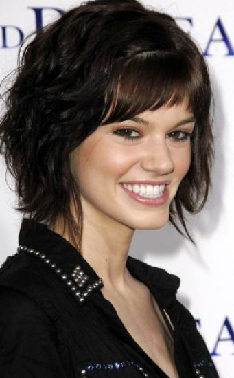 Short hairstyles for thick wavy hair pictures pictures 4