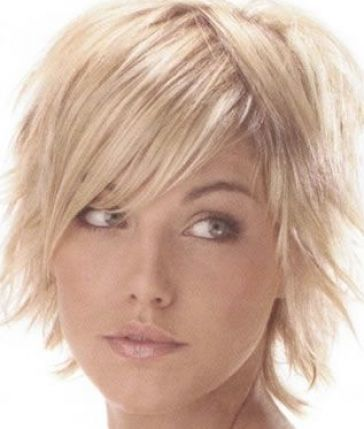short hairstyles fine hair. Cute 2010 short hairstyles for