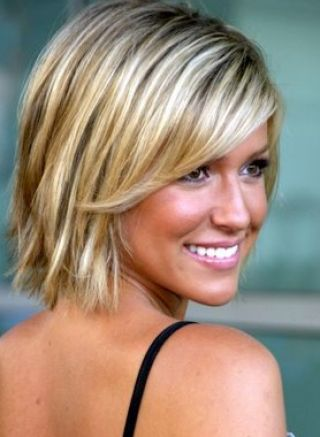 Short to medium hairstyles for fine hair pictures 1