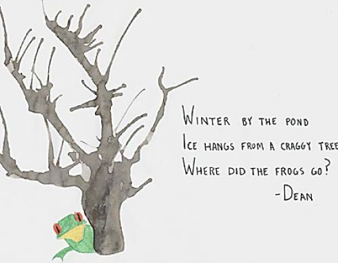 Short winter poems pictures 1