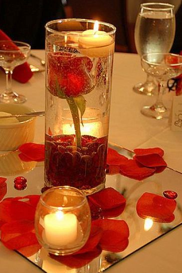 Simple wedding centerpieces elegant w