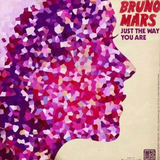 Single album art bruno mars just pictures 1