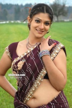 South indian actress in saree showing navel pictures 1