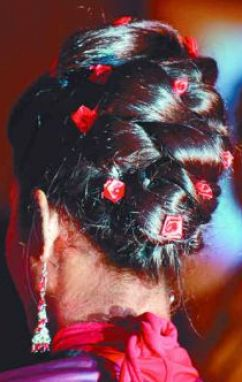 south indian bridal hair styles 3