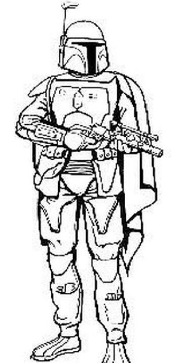 Boba Fett Helmet Coloring Pages Wars Coloring Pages Boba Fett