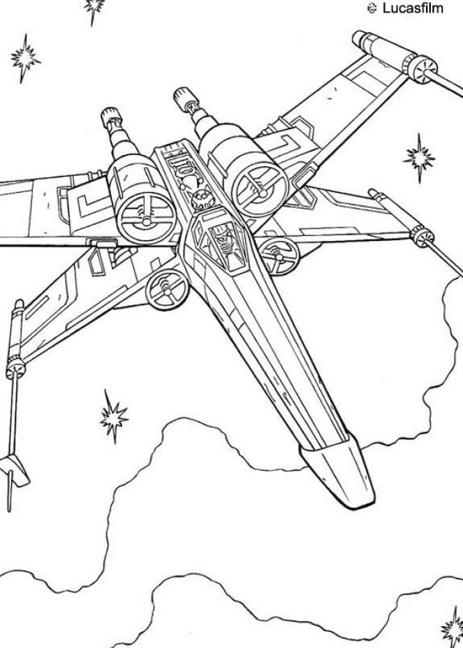 Star wars luke coloring pages