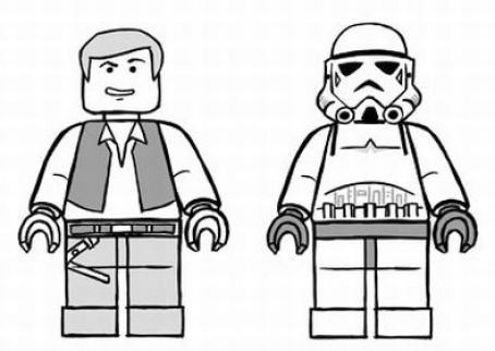 Day hairstyle lego star wars coloring pages to print for Lego coloring pages star wars
