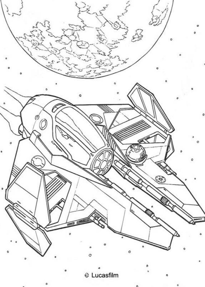 coloring pages and clone wars - photo#32