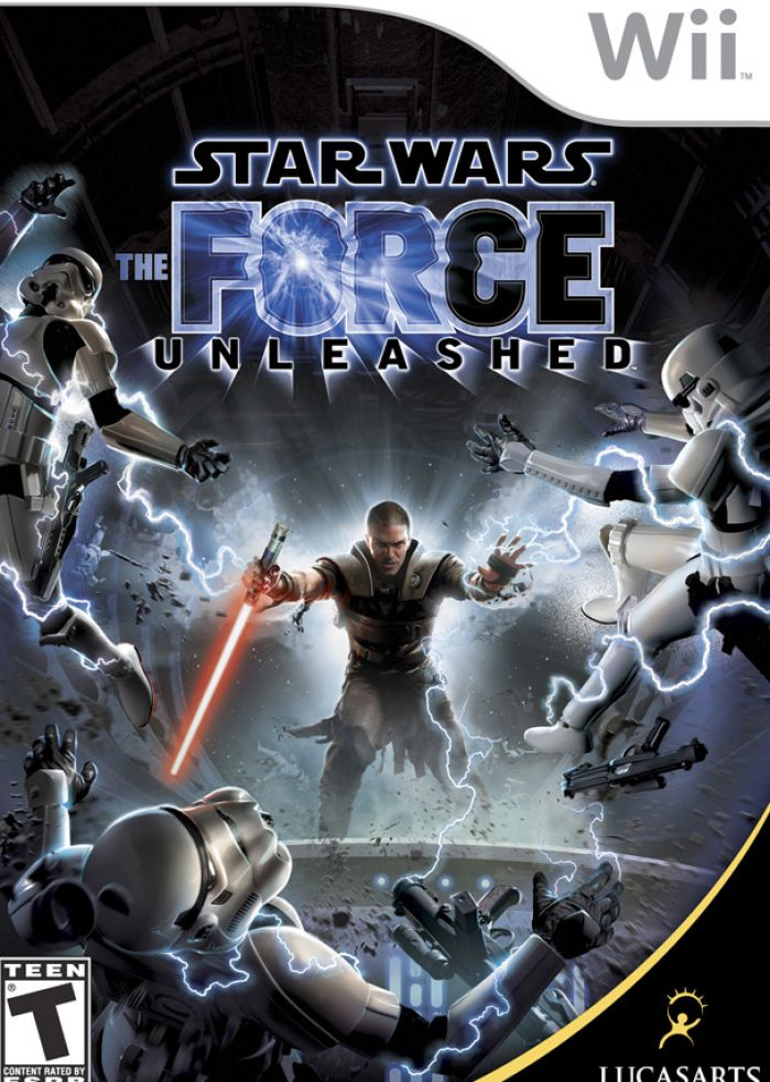 Star wars the force unleashed wii cover pictures 2