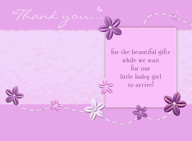 thank you cards baby shower pictures 4