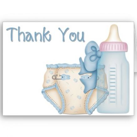 thank you cards baby pictures 2