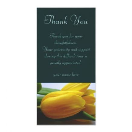 Wording For Thank You Note To A Pastor After A Funeral | Party ...