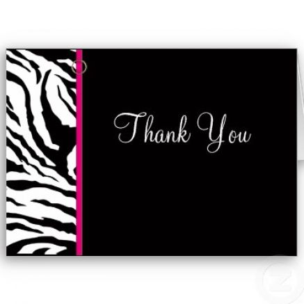 thank you card templates new calendar template site. Black Bedroom Furniture Sets. Home Design Ideas