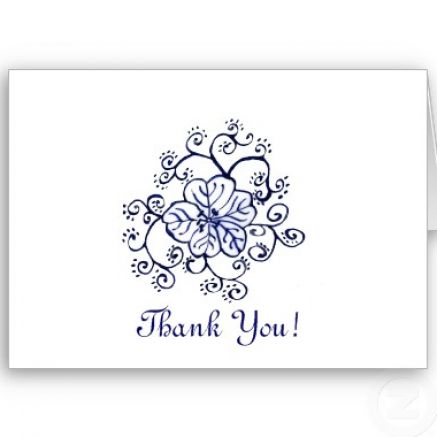 Thank you cards template pictures 2 H234h75U