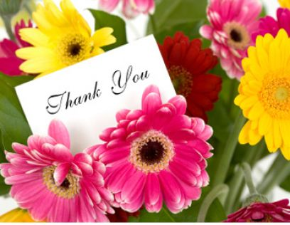 thank you flowers 2 - *Resham* for posting valuable 40,000+ posts