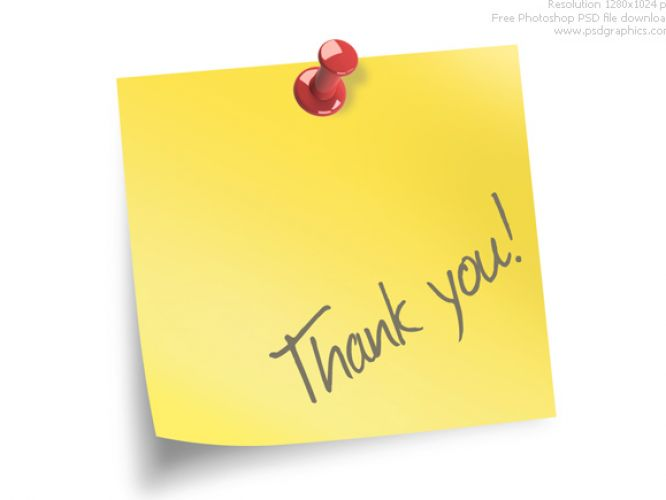 Thank you note template pictures 1