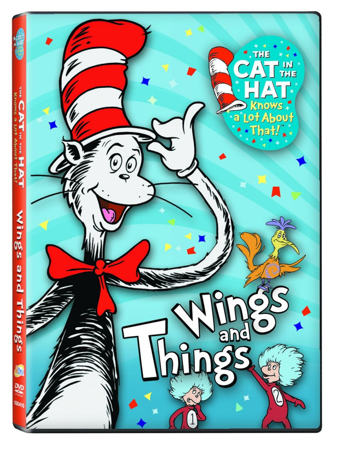 Cat In The Hat Colouring Pages Free