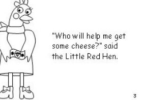 the little red hen coloring page - little red hen makes a pizza pages coloring pages