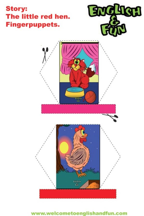 The little red hen printables pictures 3