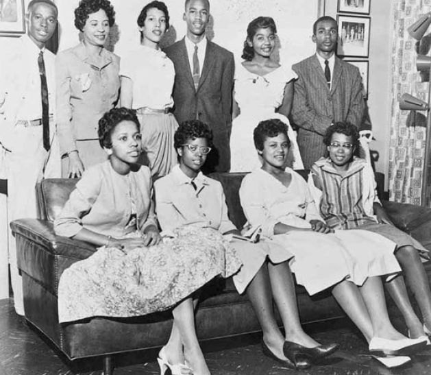 the little rock nine facts 1