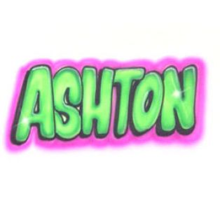 the name ashley in bubble letters 4