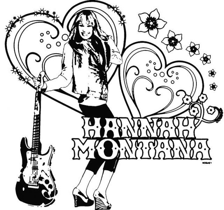 Free Letters Hannah Coloring Pages