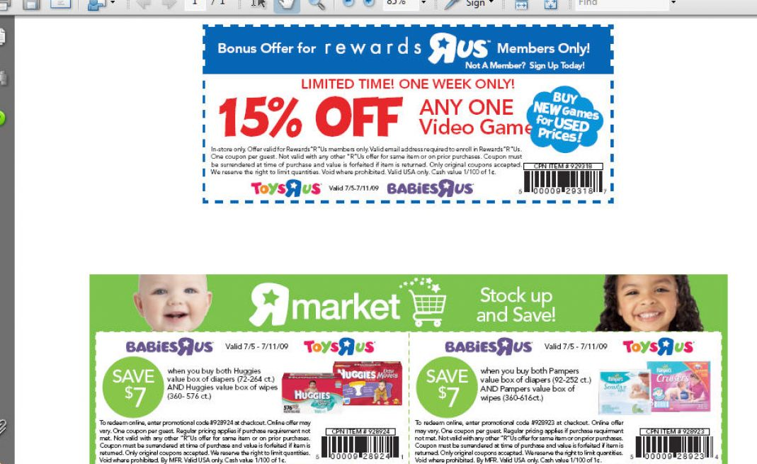 Toy coupons printable december 2018