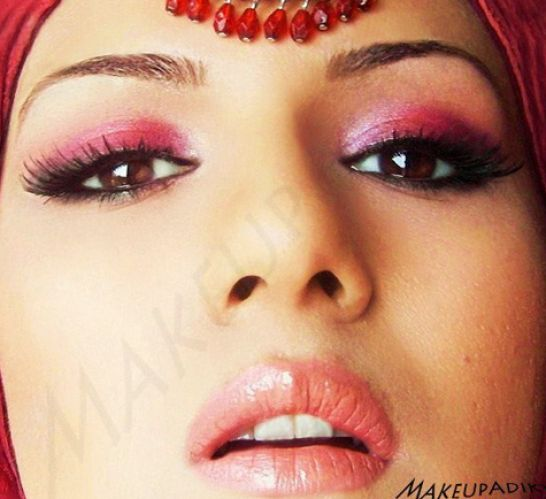 Traditional Wedding Makeup Tutorial : Traditional Indian Pakistani Bridal Makeup Tutorial ...