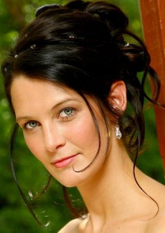 wedding updo hairstyles 2011. Princess wedding updo