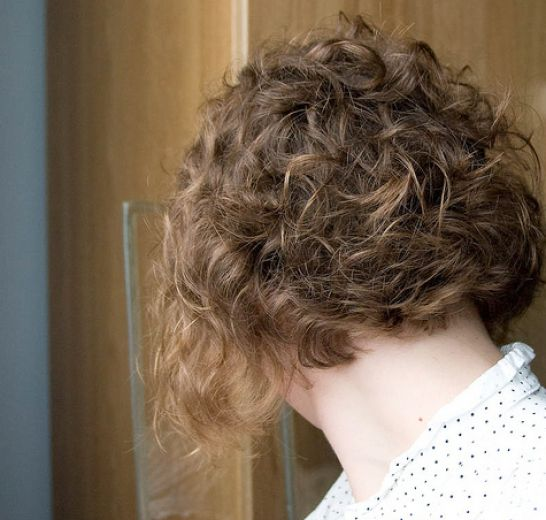 Very short curly bob pictures 1