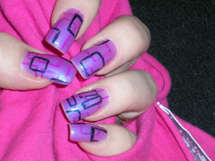 Very simple nail art designs pictures 2