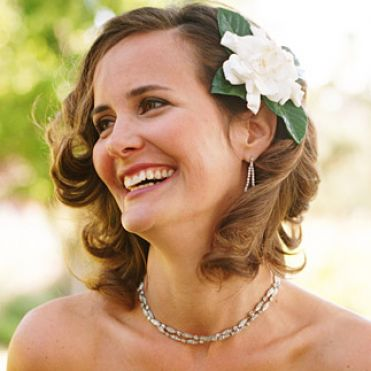 Vintage Wedding on Vintage Wedding Hairstyles For Short Pictures 1