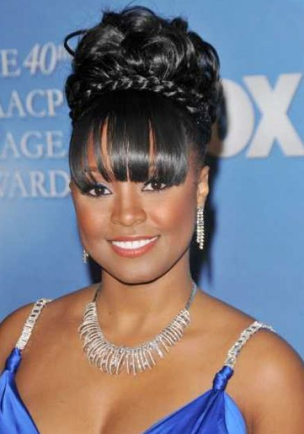 Top African American Updo Hairstyles for Women 437 x 623 · 34 kB · jpeg