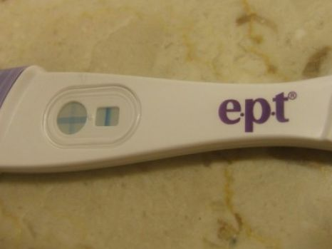 What does a negative pregnancy test look like pictures 2