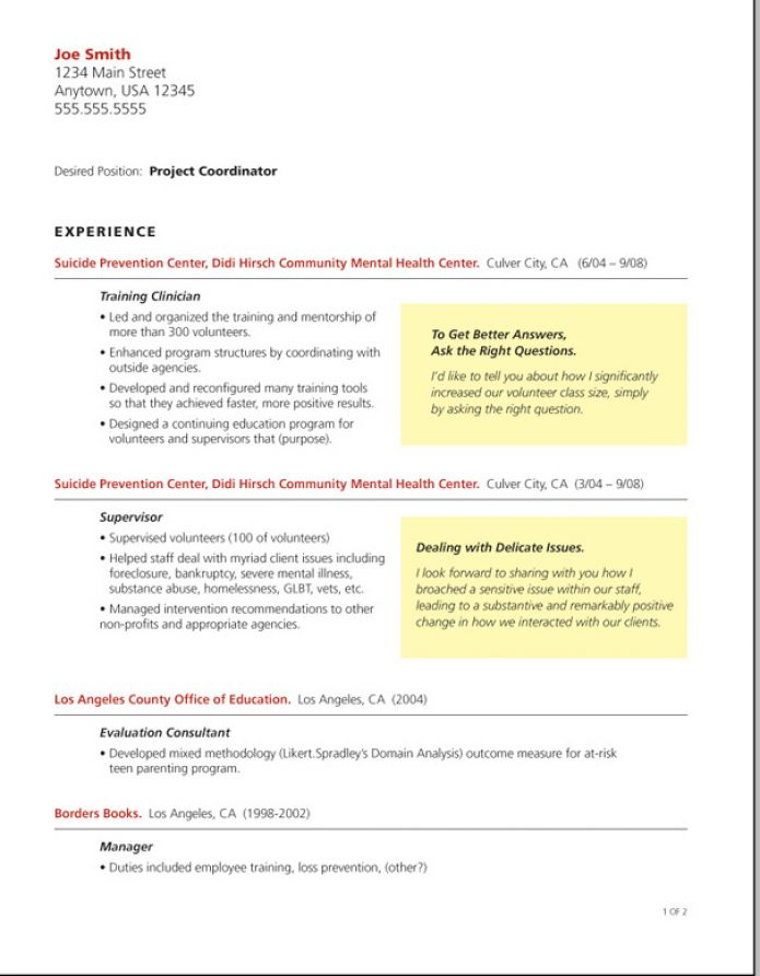 What Is A Cover Letter Of A Resume