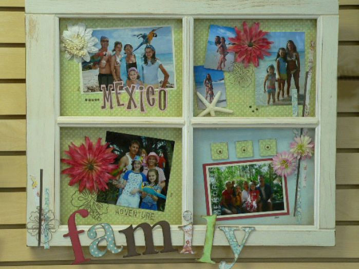 Window panes craft ideas for old window panes for Ideas for old windows pictures
