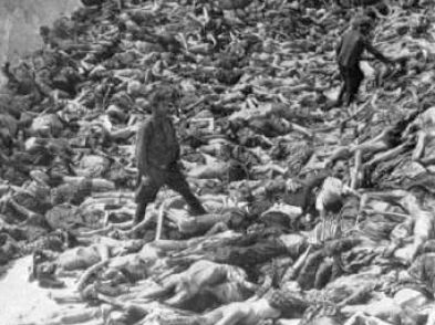 a picture of the holocaust killings June 29/30-romanian troops conduct a pogrom against jews in the town of jassy, killing 10,000  holocaust statistics 1946 return to top of page.