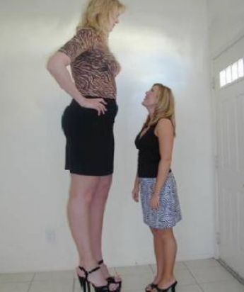 tallest woman in world. From the world#39;s tallest woman