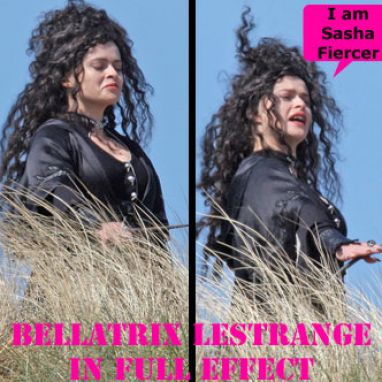 Bellatrix Lestrange Deathly Hallows. dark witch Bellatrix Lestrange