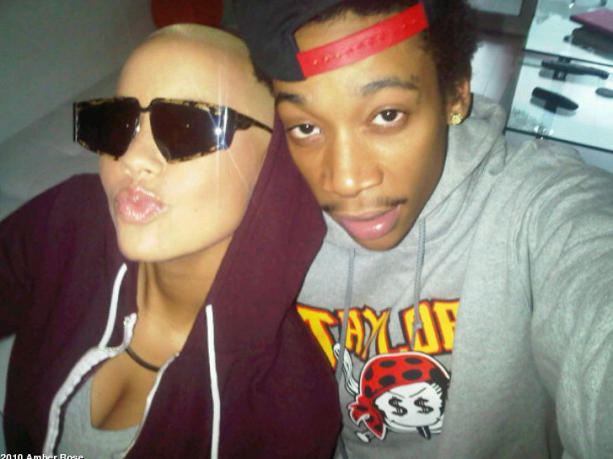 amber rose and wiz khalifa. Amber rose calls wiz khalifa