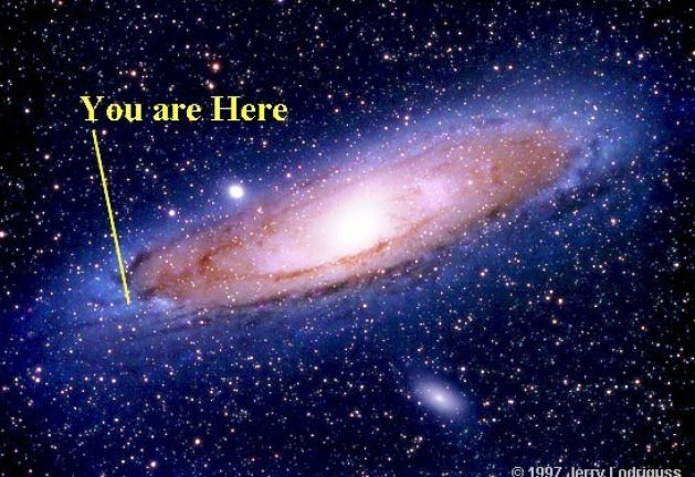 You are here universe pictures 1Universe You Are Here Poster